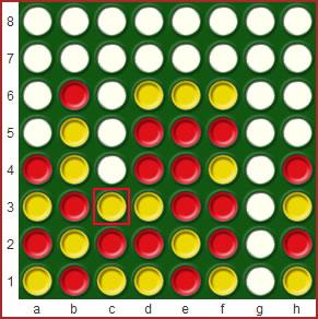 4 op een rij (tetris) spel