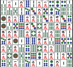 mahjong battle spel